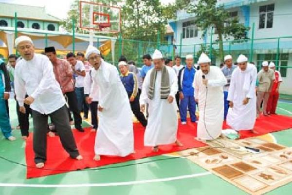 Video Sholat Joged Tradisi Dzikir Saman Jadi Viral