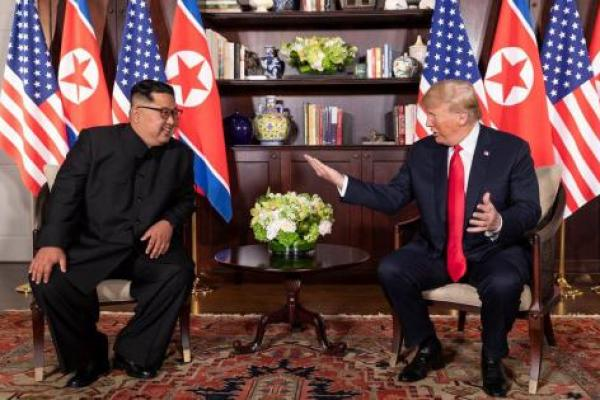 Kabarkan Kim Jong Un Sakit, Media AS Disemprot Trump