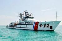 Kapal Sea and Coast Guard Tanjung Uban Siaga di Laut Natuna Utara