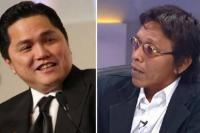 Debat Erick Thohir Vs Adian Dinilai Tak level