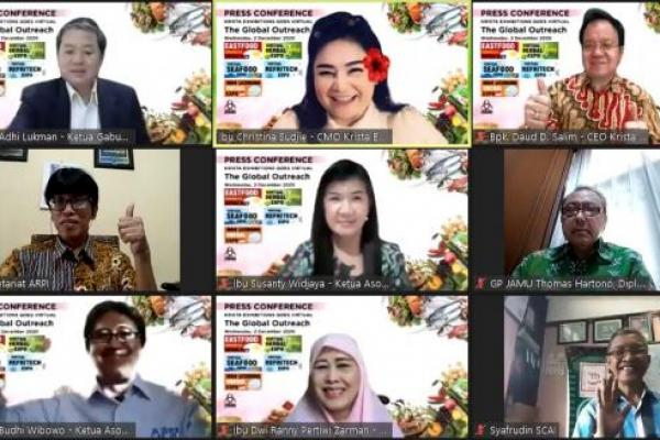 Pameran Eastfood Indonesia Virtual Expo 2020 Kembali Digelar