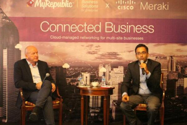 MyRepublic Connected Business disupport oleh teknologi pintar dari Cisco Meraki.