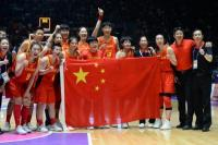 China Tundukkan Gabungan Korea di Final Basket Putri